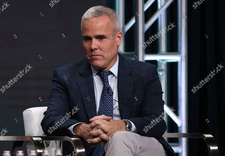 """Executive producer Terence Noonan participates in Investigation Discovery's """"Truth About Murder with Sunny Hostin"""" panel at the Television Critics Association Summer Press Tour, in Beverly Hills, Calif"""