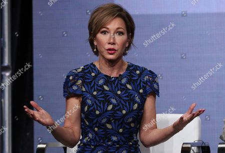 """Stock Picture of Co-host Lisa Joyner participates in TLC's """"Taken At Birth"""" panel at the Television Critics Association Summer Press Tour, in Beverly Hills, Calif"""