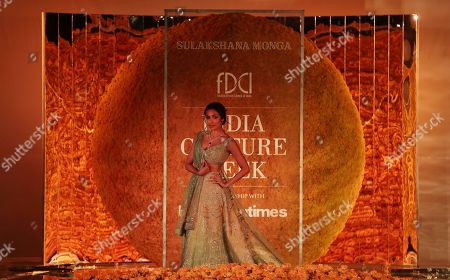 Editorial picture of Couture Week, New Delhi, India - 25 Jul 2019