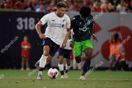 Editorial picture of Liverpool FC Sporting CP Soccer, New York, USA - 24 Jul 2019