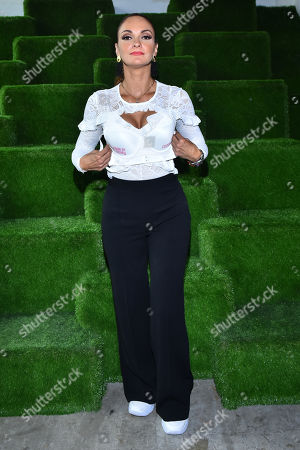 Mariana Seoane at the event which is to raise awarness and funds for breast cancer