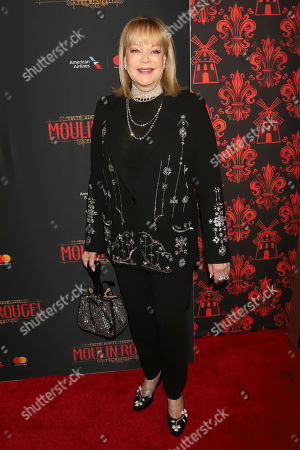 "Candy Spelling attends the Broadway opening night of ""Moulin Rouge! The Musical"" at the Al Hirschfeld Theatre, in New York"