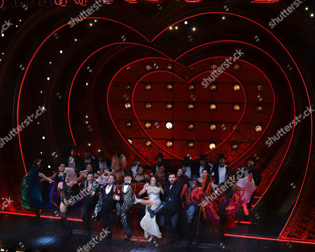 "Editorial image of ""Moulin Rouge! The Musical"" Broadway Opening Night, New York, USA - 25 Jul 2019"