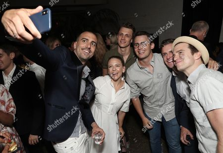 Paul Downs Colaizzo, Helene Yorke and guests