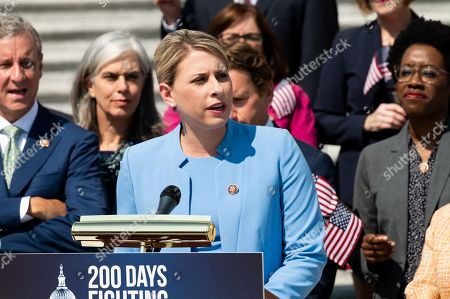Editorial image of House Democrats mark the first 200 days of the 116th Congress, Washington DC, USA - 25 Jul 2019