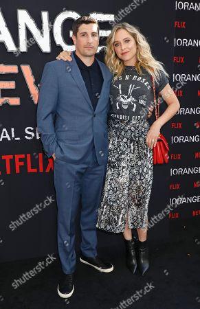 Jason Biggs and Jenny Mollen