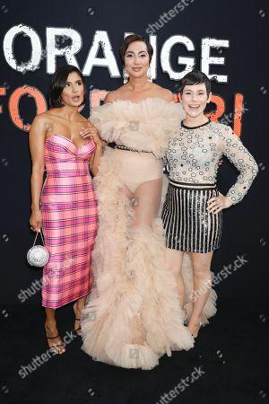Diane Guerrero, Jackie Cruz and Yael Stone