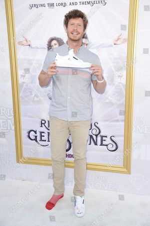 """Anders Holm attends the LA premiere of """"The Righteous Gemstones"""" at Paramount Pictures Studio, in Los Angeles"""