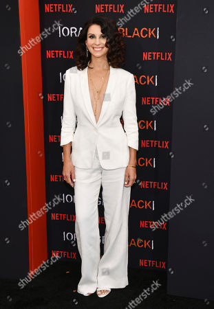 """Beth Dover attends the final season premiere of Netflix's """"Orange Is the New Black"""" at Alice Tully Hall, in New York"""