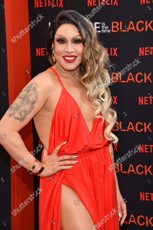 """Phi Phi O'Hara attends the final season premiere of Netflix's """"Orange Is the New Black"""" at Alice Tully Hall, in New York"""