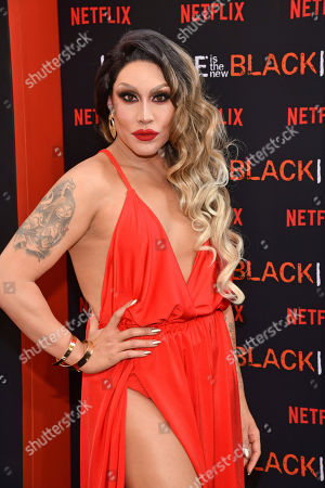 """Stock Image of Phi Phi O'Hara attends the final season premiere of Netflix's """"Orange Is the New Black"""" at Alice Tully Hall, in New York"""
