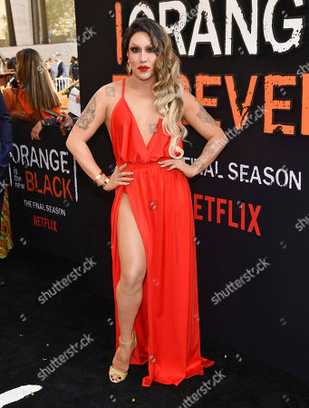 """Stock Picture of Phi Phi O'Hara attends the final season premiere of Netflix's """"Orange Is the New Black"""" at Alice Tully Hall, in New York"""