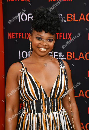 """Stock Image of Susan Heyward attends the final season premiere of Netflix's """"Orange Is the New Black"""" at Alice Tully Hall, in New York"""