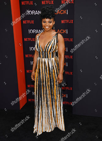 """Susan Heyward attends the final season premiere of Netflix's """"Orange Is the New Black"""" at Alice Tully Hall, in New York"""