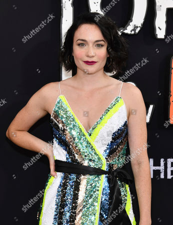 """Stock Picture of Ismenia Mendes attends the final season premiere of Netflix's """"Orange Is the New Black"""" at Alice Tully Hall, in New York"""