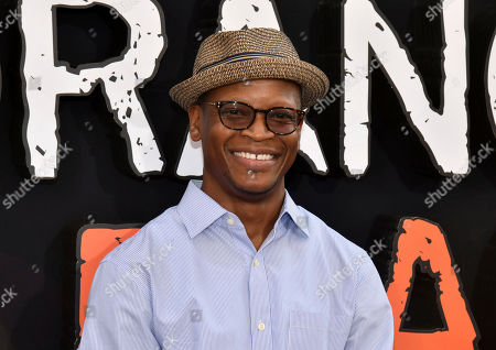 "Lawrence Gilliard Jr. attends the final season premiere of Netflix's ""Orange Is the New Black"" at Alice Tully Hall, in New York"