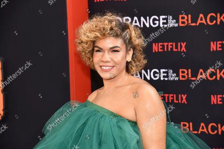 "Daniella De Jesus attends the final season premiere of Netflix's ""Orange Is the New Black"" at Alice Tully Hall, in New York"