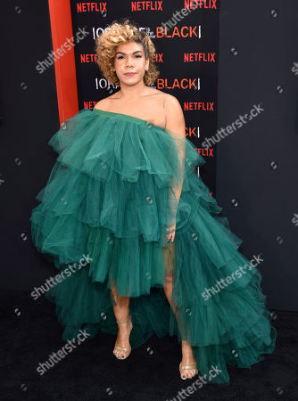 """Stock Picture of Daniella De Jesus attends the final season premiere of Netflix's """"Orange Is the New Black"""" at Alice Tully Hall, in New York"""