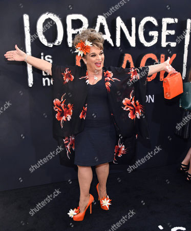 "Lin Tucci attends the final season premiere of Netflix's ""Orange Is the New Black"" at Alice Tully Hall, in New York"