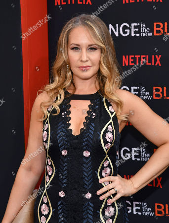 """Kelly Karbacz attends the final season premiere of Netflix's """"Orange Is the New Black"""" at Alice Tully Hall, in New York"""