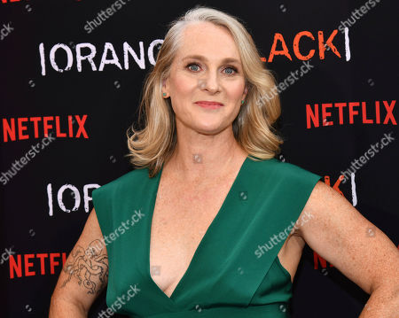 """Piper Kerman attends the final season premiere of Netflix's """"Orange Is the New Black"""" at Alice Tully Hall, in New York"""