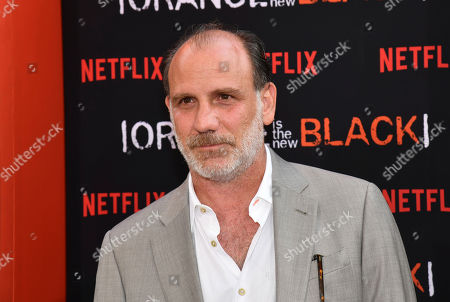 """Stock Picture of Nick Sandow attends the final season premiere of Netflix's """"Orange Is the New Black"""" at Alice Tully Hall, in New York"""