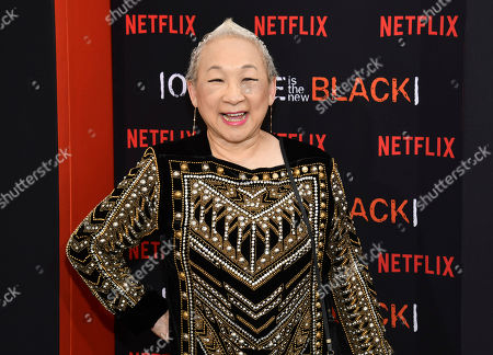 "Lori Tan Chinn attends the final season premiere of Netflix's ""Orange Is the New Black"" at Alice Tully Hall, in New York"