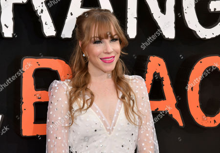 """Emma Myles attends the final season premiere of Netflix's """"Orange Is the New Black"""" at Alice Tully Hall, in New York"""