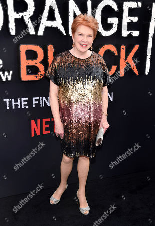 "Beth Fowler attends the final season premiere of Netflix's ""Orange Is the New Black"" at Alice Tully Hall, in New York"