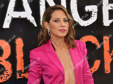 "Elizabeth Rodriguez attends the final season premiere of Netflix's ""Orange Is the New Black"" at Alice Tully Hall, in New York"