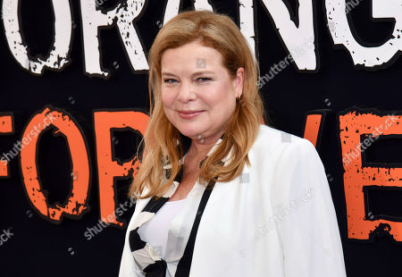 """Catherine Curtin attends the final season premiere of Netflix's """"Orange Is the New Black"""" at Alice Tully Hall, in New York"""