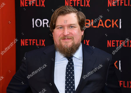 """Michael Chernus attends the final season premiere of Netflix's """"Orange Is the New Black"""" at Alice Tully Hall, in New York"""