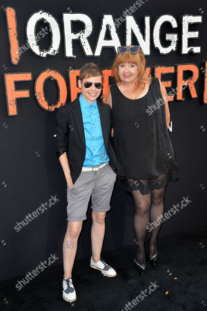 Stock Photo of Abigail Savage and Annie Golden