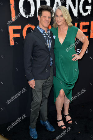 Larry Smith and Piper Kerman