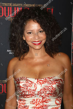 """Gloria Reuben attends the Broadway opening night of """"Moulin Rouge! The Musical"""" at the Al Hirschfeld Theatre, in New York"""