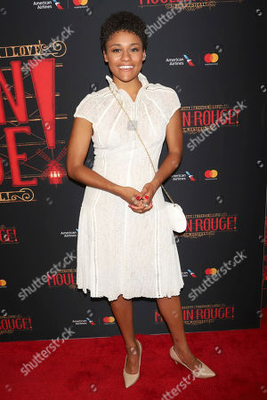 "Ariana DeBose attends the Broadway opening night of ""Moulin Rouge! The Musical"" at the Al Hirschfeld Theatre, in New York"
