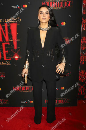 """Editorial picture of """"Moulin Rouge! The Musical"""" Broadway Opening Night, New York, USA - 25 Jul 2019"""