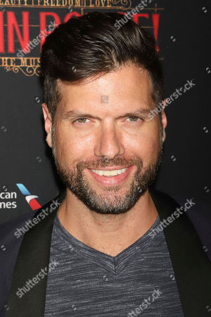 """Mauricio Martinez attends the Broadway opening night of """"Moulin Rouge! The Musical"""" at the Al Hirschfeld Theatre, in New York"""