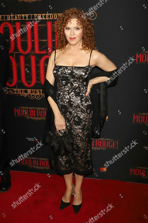 """Bernadette Peters attends the Broadway opening night of """"Moulin Rouge! The Musical"""" at the Al Hirschfeld Theatre, in New York"""
