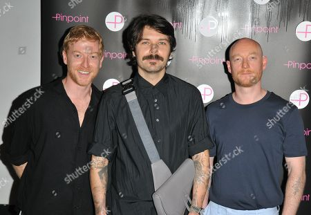 James Johnston, Simon Neil and Ben Johnston