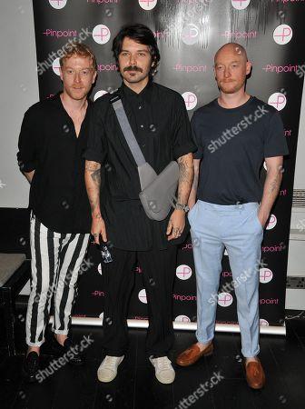 Stock Picture of James Johnston, Simon Neil and Ben Johnston