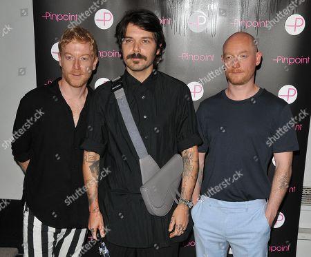 Stock Photo of James Johnston, Simon Neil and Ben Johnston