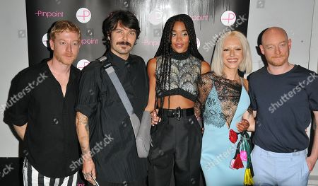 James Johnston, Simon Neil, Laura Harrier, Bria Vinaite and Ben Johnston