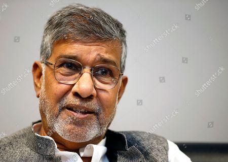 Editorial image of Kailash Satyarthi in Bangkok, Thailand - 23 Jul 2019