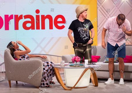 Christine Lampard, Keith Lemon and Paddy McGuinness