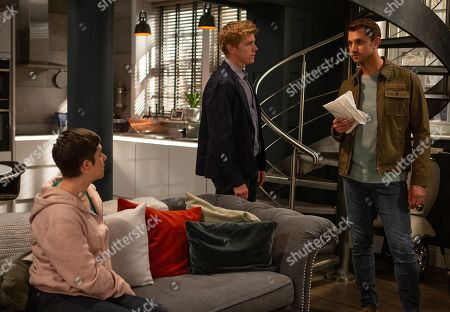 Ep 8550 Tuesday 30th July 2019 - 1st Ep At home, Victoria Barton, as played by Isabel Hodgins, is felled by the blow of Lee, as played by Kris Mochrie, suddenly demanding compensation plus a full public apology from her. He certainly means business. At home Diane Sugden and Robert Sugden, as played by Ryan Hawley, are in turmoil what to do and Victoria is adamant she will never apologise. Diane tries to convince Victoria paying off Lee is the best option. Before long Lee turns up but he's not backing down. He wants double the money they've offered and the apology. Can Victoria find a way to shake Lee out of her life for good?