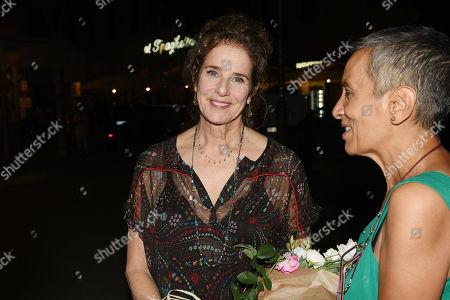 Debra Winger and Olga Fernando