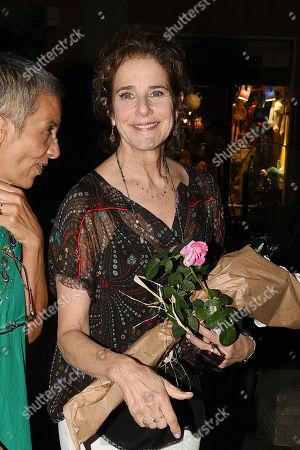 Olga Fernando and Debra Winger