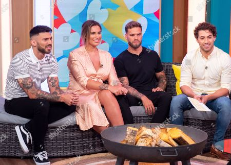 Editorial image of 'This Morning' TV show, London, UK - 26 Jul 2019