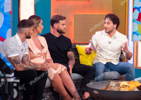 Stock Photo of Jake Quickenden, Jess Shears, Dominic Lever and Kem Cetinay